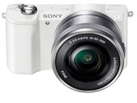 Mirrorless Camera Sony α5000 Kit 16-50mm Λευκό