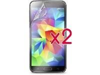 Μεμβράνη οθόνης Samsung Galaxy S5 - Puro Standard Screen Protector - 2 τεμ