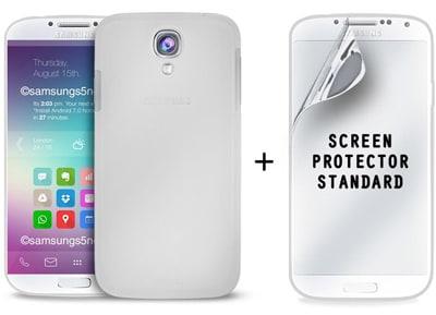 Θήκη & Μεμβράνη Samsung Galaxy S5 - Puro Set Foil Pouch & Screen Διαφανές τηλεφωνία   tablets   αξεσουάρ κινητών   θήκες