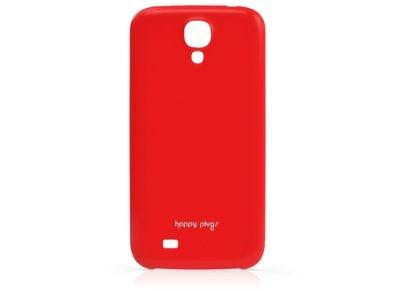 Θήκη & Μεμβράνη Samsung Galaxy S4 - Happy Plugs Ultra Thin Case 8816 Κόκκινο τηλεφωνία   tablets   αξεσουάρ κινητών   θήκες