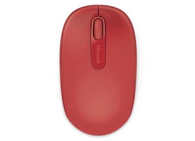 Microsoft Wireless Mobile Mouse 1850 Red - Ασύρματο ποντίκι - Κόκκινο