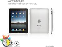 Macally Metrocpad - Θήκη iPad 1 - Διαφανές