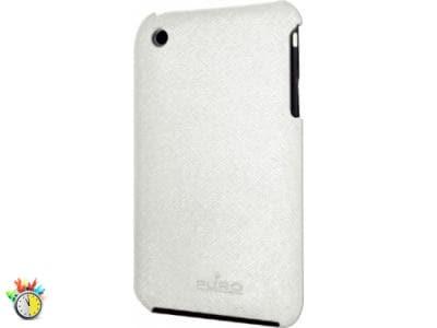 Θήκη iPhone 3G/3GS - Puro VCPR4G-LTHRWH Λευκό apple   αξεσουάρ iphone   θήκες