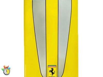 Θήκη iPhone 4/4s - Ferrari Scuderia FESC4GYE Κίτρινο apple   αξεσουάρ iphone   θήκες