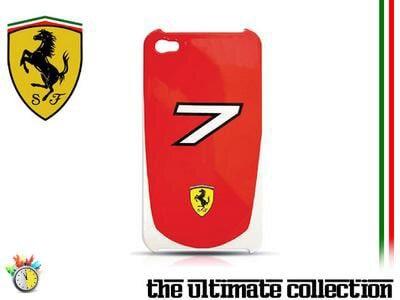 Θήκη iPhone 4/4s - Ferrari Scuderia Massa Κόκκινο apple   αξεσουάρ iphone   θήκες