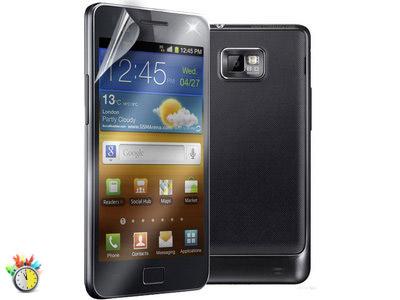 Μεμβράνη οθόνης Samsung Galaxy S2 - Puro Clear SDGALAXYS2SG - 2 τεμ