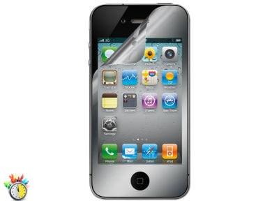 Μεμβράνη οθόνης iPhone 4/4s - Belkin Screen Guard Mirror F8Z871CW2 apple   αξεσουάρ iphone   μεμβράνες