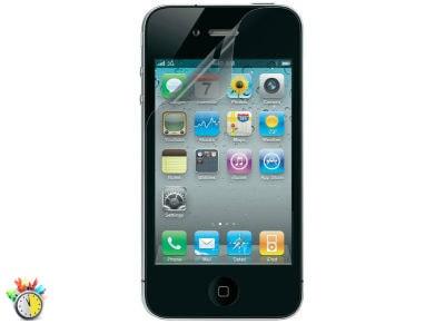 Μεμβράνη οθόνης iPhone 4/4s - Belkin Screen Guard Αnti-Smudge F8Z869CW2 apple   αξεσουάρ iphone   μεμβράνες