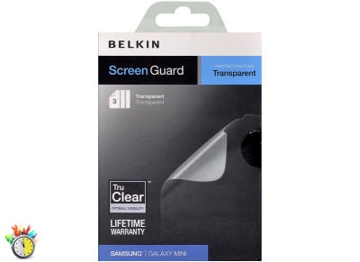 Μεμβράνη οθόνης Samsung Galaxy mini - Belkin Screen Guard Transparent F8M262CW3 - 3 τεμ
