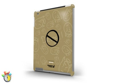 WIT Premium Tough Shield Eminem - Θήκη iPad 3/4 - Καφέ