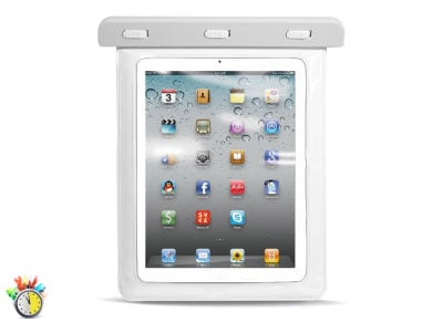 "Puro WP2WHI - Αδιάβροχη Θήκη Tablet 10"" - Λευκό"
