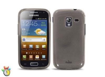 Θήκη Samsung Galaxy Ace 2 - Puro Silicon Case Μαύρο