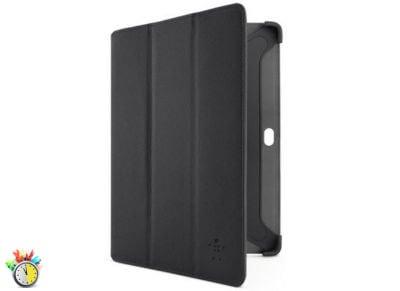 Belkin Tri-Fold Folio - Θήκη Samsung Galaxy Note 10.1 - Μαύρο tablets   αξεσουάρ   θήκες