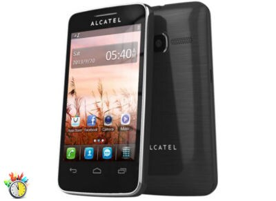 Alcatel One Touch 3040D Dual Sim Μαύρο