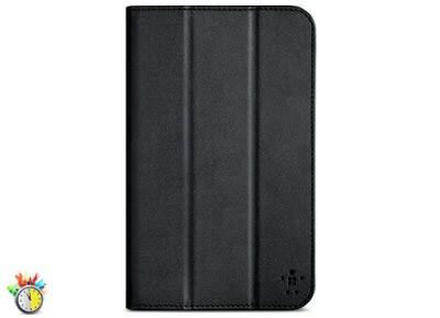 Belkin Smooth Tri-Fold Cover with Stand - Θήκη Samsung Galaxy Tab 3 7.0 - Μαύρο tablets   αξεσουάρ   θήκες