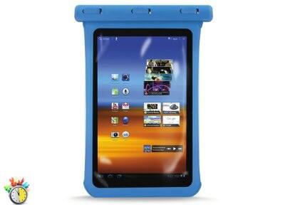 """Αδιάβροχη Θήκη Tablet 7.9"""" - Puro Waterproof Slim Μπλε"""