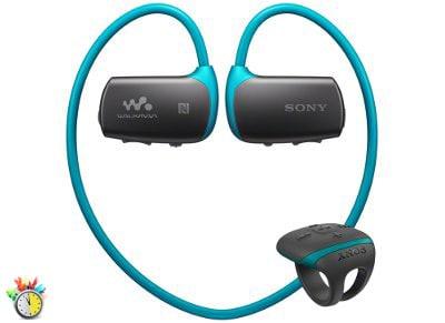 Αδιάβροχο MP3 Sony NWZWS613L 4GB Μπλε