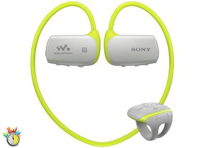 Αδιάβροχο MP3 Sony NWZWS613G 4GB Πράσινο