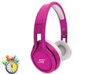 Ακουστικά Κεφαλής SMS Overhead Street by 50 Ροζ