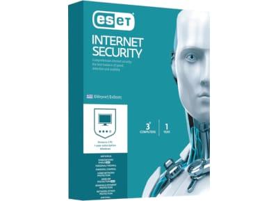 ESET NOD32 Internet Security (3 αυτόνομες άδειες χρήσης για 1 έτος)