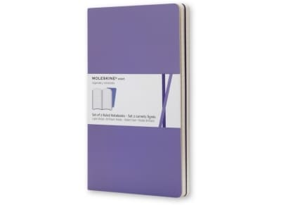 Σημειωματάριο Moleskine Volant Rulled Purple - Small