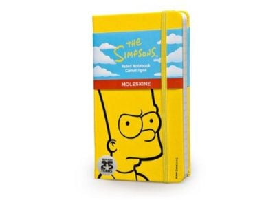 Σημειωματάριο Moleskine Limited Edition The Simpson Yellow - Small