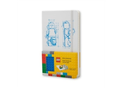 Σημειωματάριο Moleskine Limited Edition LEGO® Ruled - Large