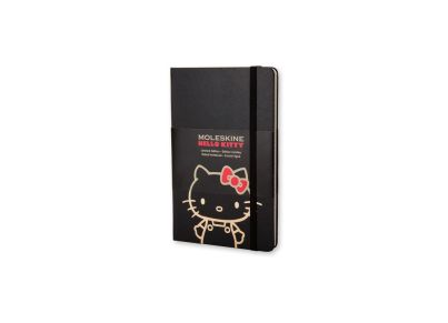 Σημειωματάριο Moleskine Limited Edition Hello Kitty Ruled Black - Small
