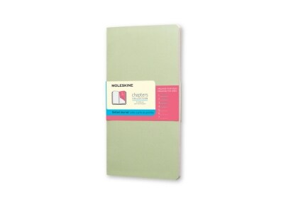 Σημειωματάριο Moleskine Chapters Journal Dotted Green - Large