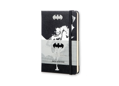 Σημειωματάριο Moleskine Limited Edition Batman Ruled Hard Black - Small