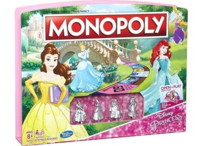 Επιτραπέζιο Monopoly Disney Princess Edition