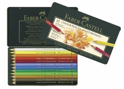 af36c8e175 Ξυλομπογιές Faber Castell Polychromos (12 τεμάχια)