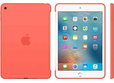 Apple Silicone Case - Θήκη iPad mini 4 Apricot (MM3N2ZM/A) tablets   αξεσουάρ   θήκες