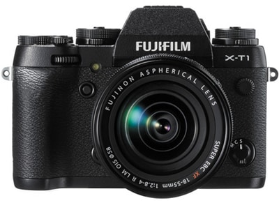 Mirrorless Camera Fujifilm X-T1 Kit 18-55mm - Μαύρο