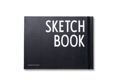 Σημειωματάριο Design Letters Sketchbook - Large