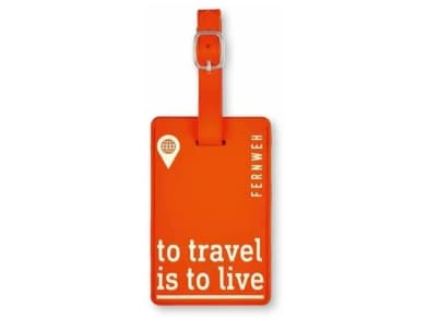 Luggage Tag To Travel is to Love Moses
