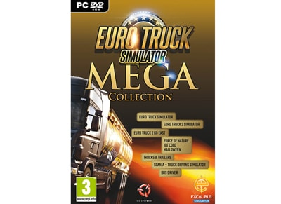 Eurotruck Simulator Mega Collection - PC Game gaming   παιχνίδια ανά κονσόλα   pc