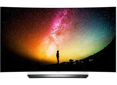 "Τηλεόραση LG 55"" Smart 3D Curved OLED Ultra HD 55C6V"