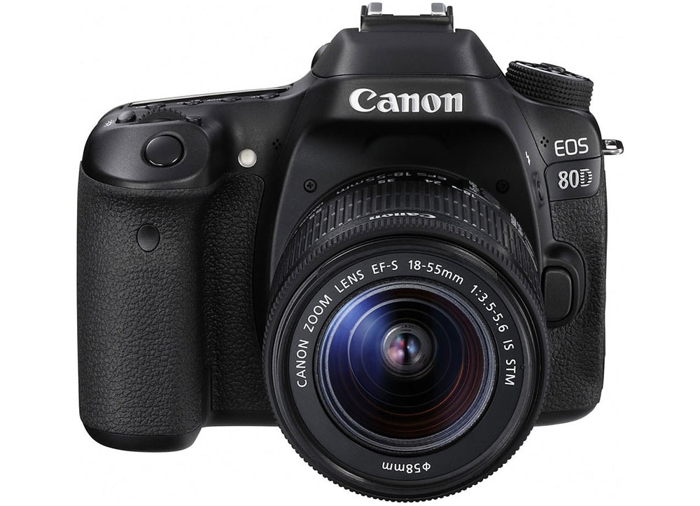 DSLR Canon EOS 80D EF 18-55S - Φωτογραφική Μηχανή Μαύρο  76cc5d97e80