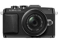 Mirrorless Camera Olympus E-PL7 14-42mm - Μαύρο