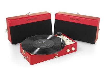 Πικάπ Ricatech Vintage RTT80 Κόκκινο 2cf4ee567bf