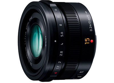 Panasonic Leica DG Summilux 15mm f1.7 - Φακός για Panasonic MFT