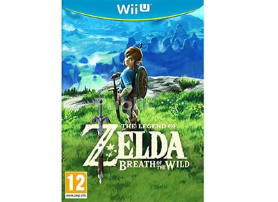 The Legend of Zelda: Breath of the Wild - Wii U Game