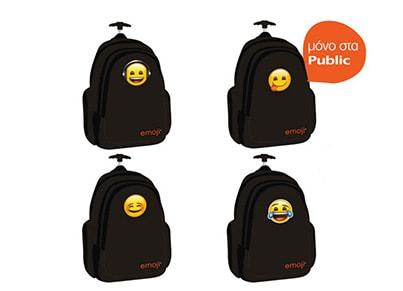 d907b23f34e Τσάντα Τρόλεϋ Paxos Emoji Classic (1 Τσάντα) | Public
