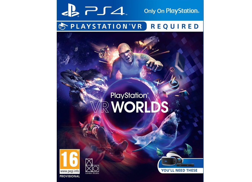 PlayStation VR Worlds - PS4/PSVR Game