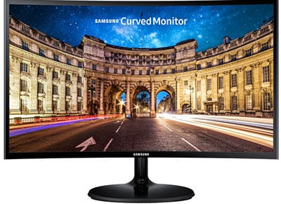 "Samsung LC 24F390FHUXEN Monitor Curved 24"" Full HD"