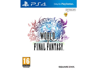 World of Final Fantasy - PS4 Game