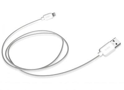 Καλώδιο Lightning to USB - SBS Sync & Charge Data Cable Λευκό (TECABLEUSBIP5L)