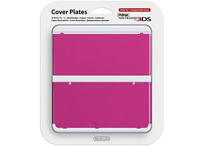 New Nintendo 3DS Coverplate - Ροζ