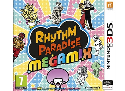 Rhythm Paradise Megamix - 3DS/2DS Game